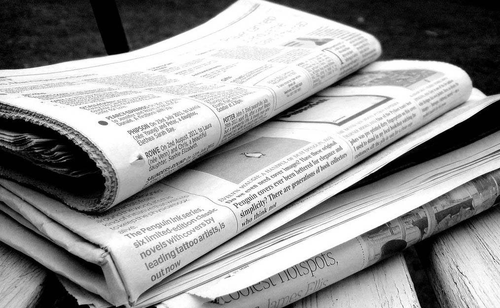 Traditional newspapers are disappearing rapidly